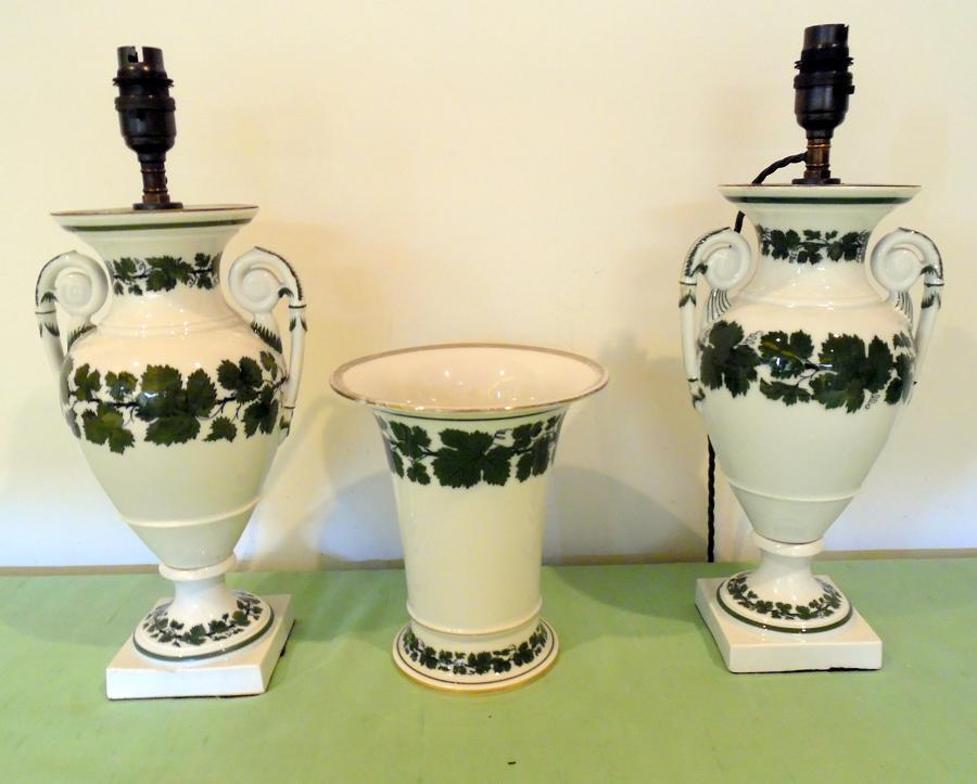 Meissen Urns with cachepot