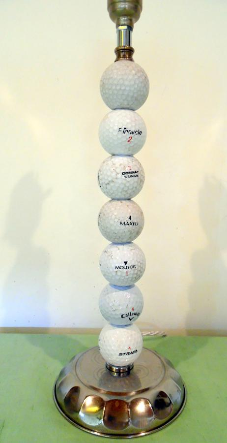 Golf ball lamp